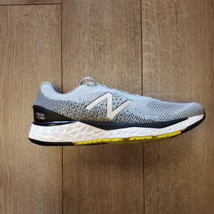 New Balance Men's Fresh Foam 880 V10 - Silver Mink with Lemon Slush