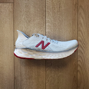 New Balance Men's Fresh Foam 1080 V10 - Summer Fog with Neo Crimson & White