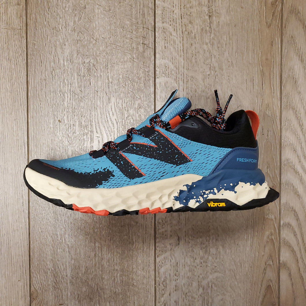 New Balance Women's Fresh Foam Hierro V5 - Wax Blue with Toro Red & Black
