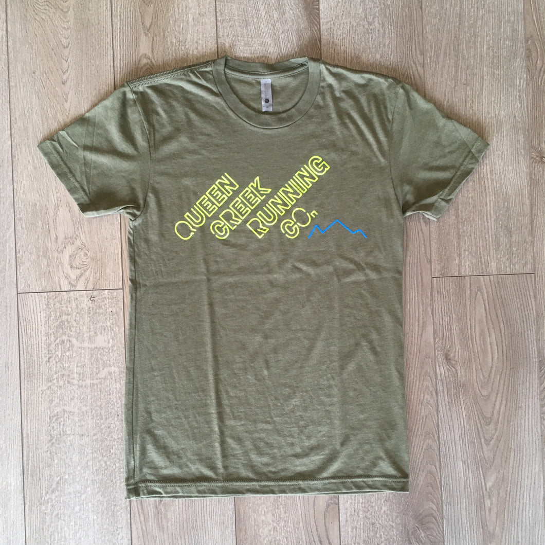 QCRC Unisex T-shirt - Heather Olive