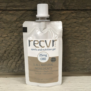 Recvr CBD Sports & Nutrition Gel - Dark Chocolate