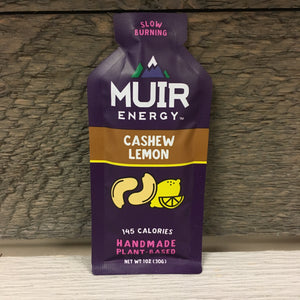 Muir Energy Gel - Cashew Lemon