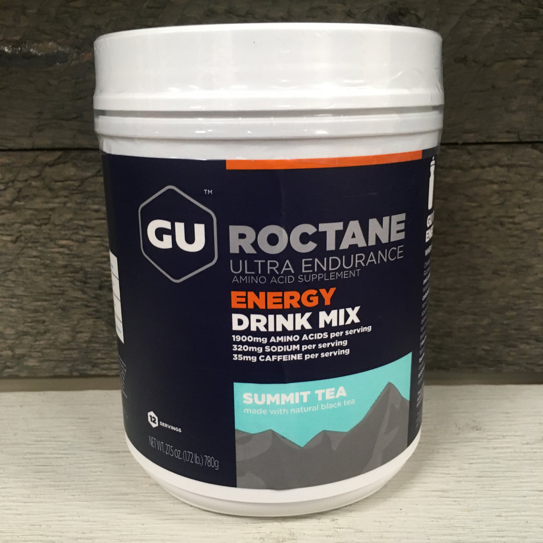 GU Roctane Ultra Endurance Energy Drink Mix 27.5 oz - Summit Tea