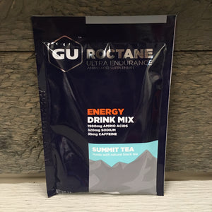 GU Roctane Ultra Endurance Energy Drink Mix Single Serving - Summit Tea