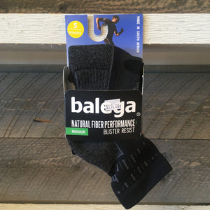 Balega Blister Resist Quarter Running Socks - Grey/Black