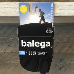 Balega Hidden Comfort No Show Running Socks - Black