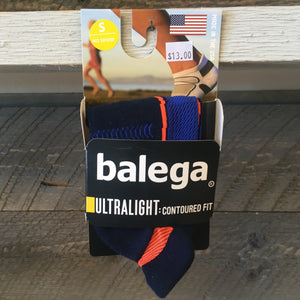 Balega Ultralight No Show Running Socks - Ink/Cobalt