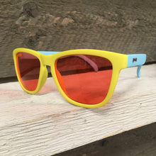 Load image into Gallery viewer, Goodr OG Sunglasses - Pineapple Pain Killers