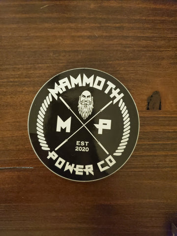 Mammoth Decal
