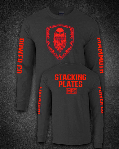 MAMMOTH POWER LONG SLEEVE RED