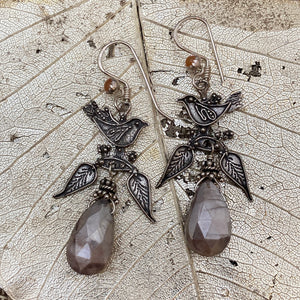 Silverlite Bird Earrings