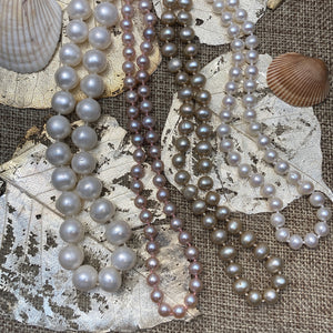 Freshwater Pearl Continuous Necklaces