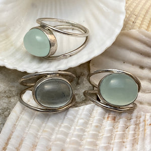 Between You & Me Cabochon Rings