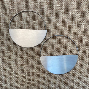 Half Moon Steel Hoops