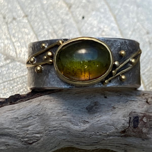 Cat's Eye Tourmaline Ring