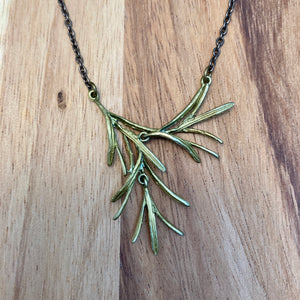 Petite Rosemary Necklace & Earrings