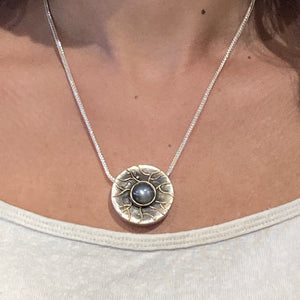 Botany Moonstone Necklace
