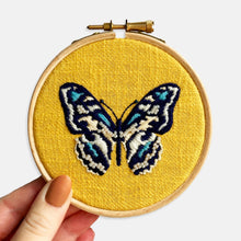 Load image into Gallery viewer, Butterfly Embroidery Kit