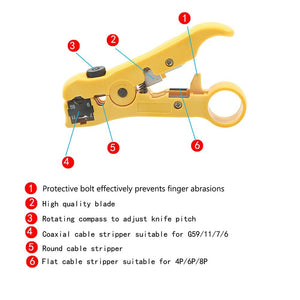 OldSchool™ Multi-functional Electric Stripping Tool