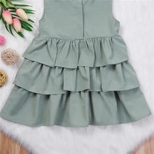 Load image into Gallery viewer, Harith'sFashion™ Toddler Girls Ruffle Dress