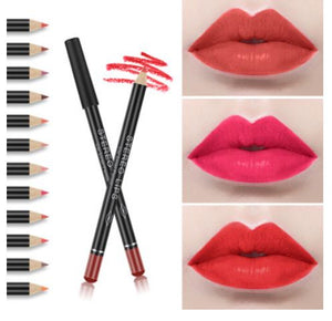 OldSchool™ 12 COLORS WATERPROOF LIP LINER