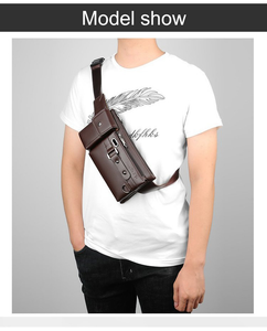 OldSchool™ Men's Leather Waist Bag