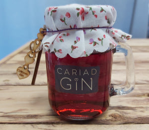 Cariad Blackcurrant Gin Welsh Alcohol
