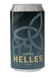 Bragdy Mona Helles Lafger Hand Picked by Llanfairpwll Distillery