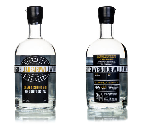 Llanfairpwll Distillery Anglesey Dry Gin Welsh Alcohol