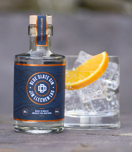 Blue Slate Gin Mini Welsh Alcohol