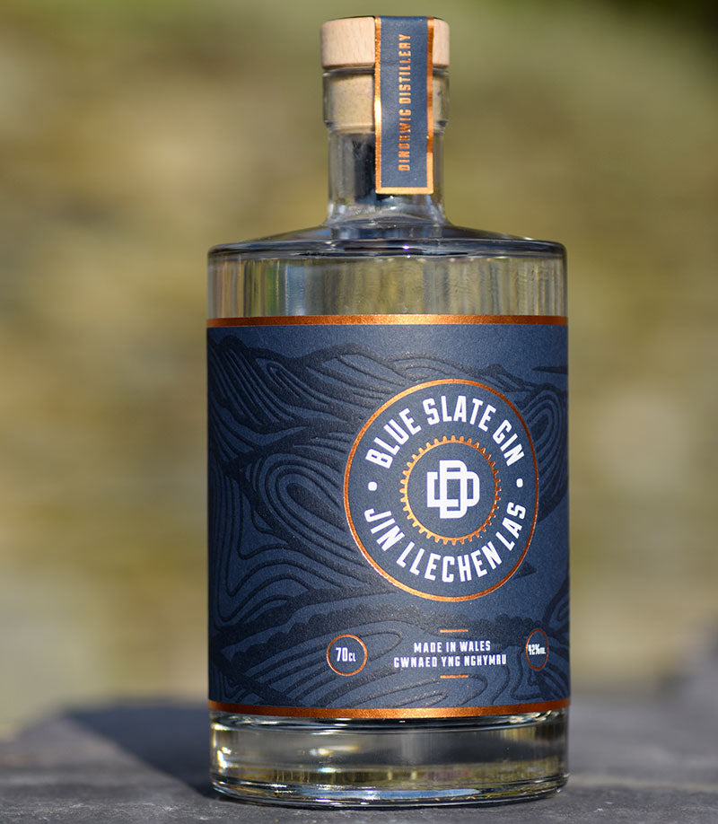 Blue Slate Gin Welsh Alcohol