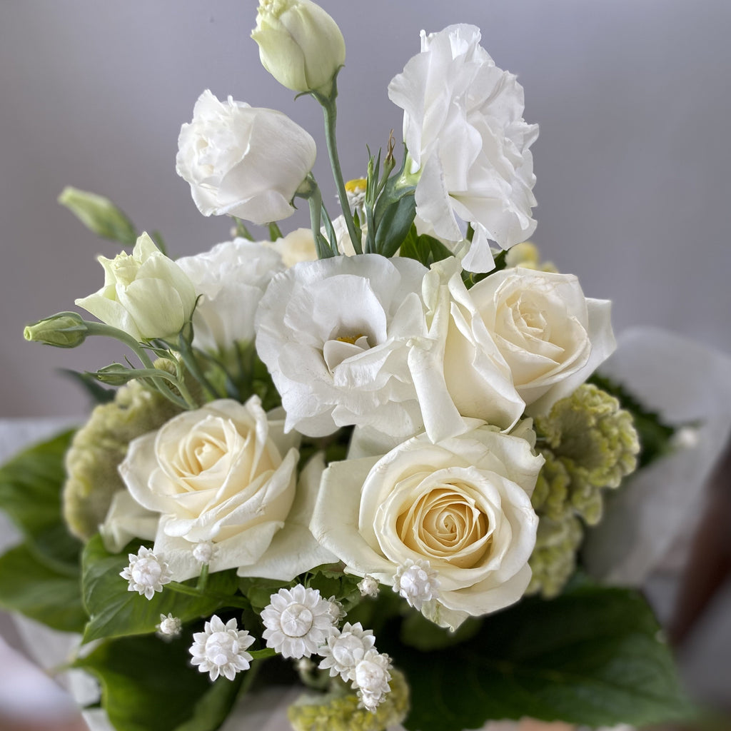 Classic White Flower Bouquet