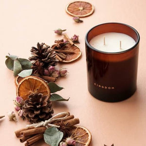 Kingdom luxury soy candle