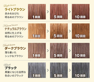 RISHIRI Hair Colour Shampoo - 200ml - made in Japan