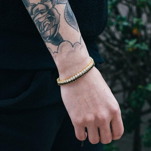 Mister Crystal Rose Gold Bracelet