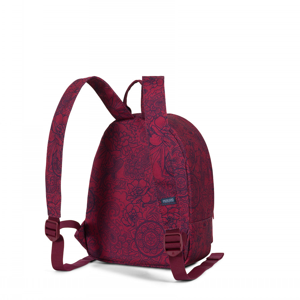 Parkland Rio Atomic Maroon Mini Backpack
