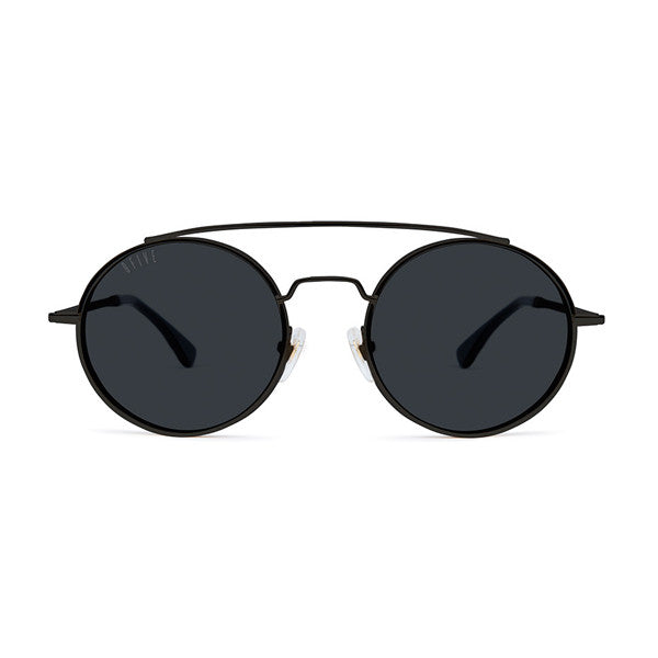9Five 50-50 Blackout Chrome Sunglasses