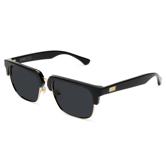 9Five Belmont 24K Gold Sunglasses