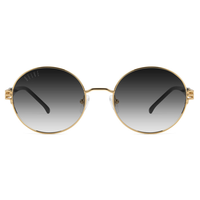 9Five Iris 24K Gold Gradient Sunglasses