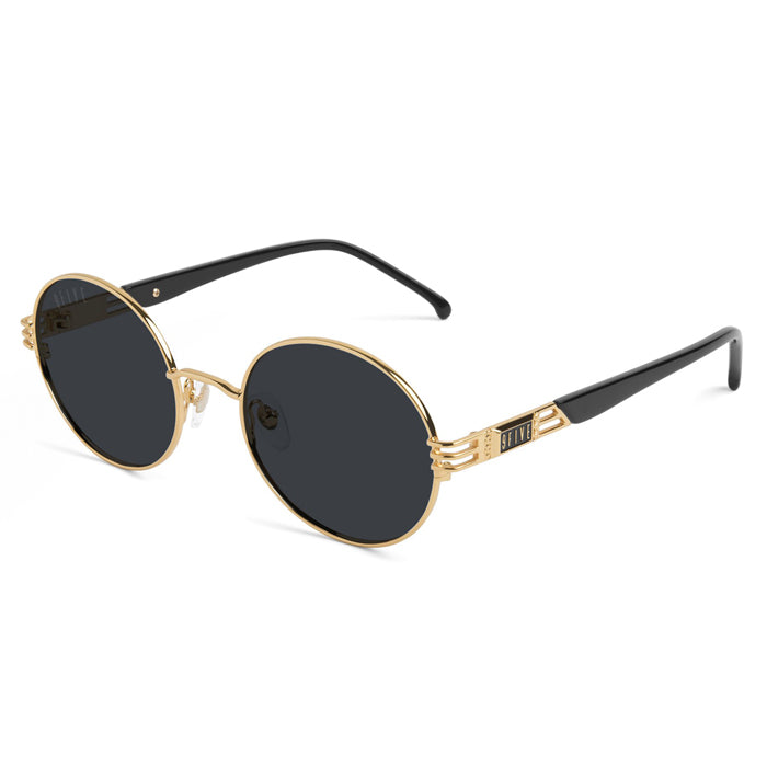 9Five Iris 24K Gold Sunglasses
