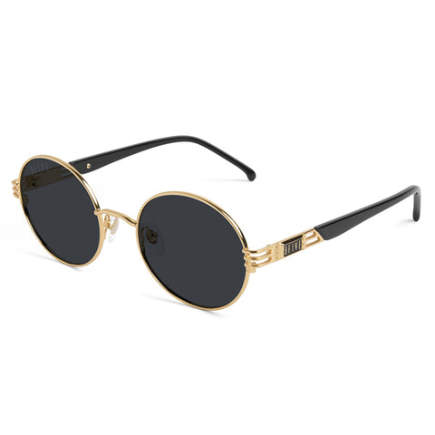 9Five St. James Wood 24K Gold Sunglasses