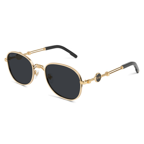 9Five St. Michael 24K Gold Sunglasses