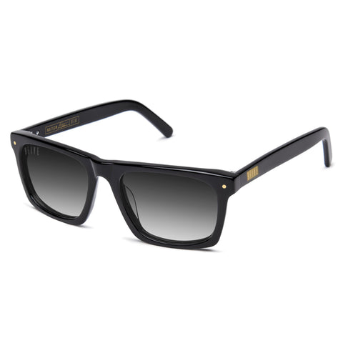 9Five Watson Black Gradient Sunglasses