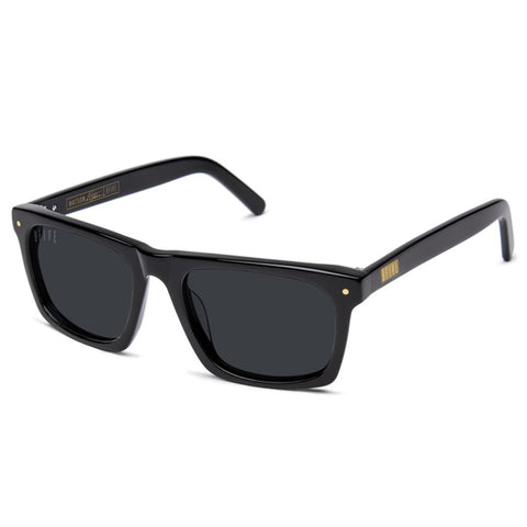 9Five Watson Black Sunglasses