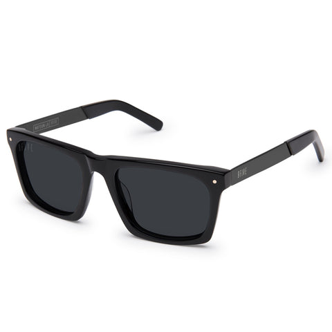 9Five Watson LX Matte Black Sunglasses