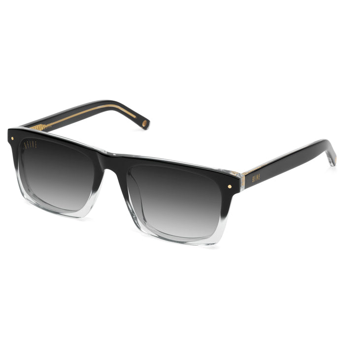 9Five Watson Black Fade Gradient Sunglasses