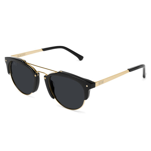 Glassy Parker Black Sunglasses