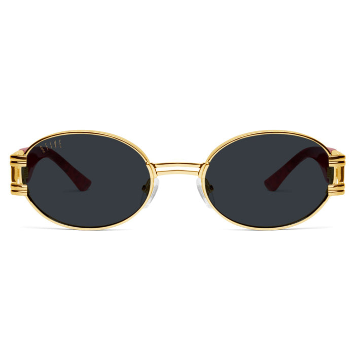 9Five St. James Red Marble Sunglasses