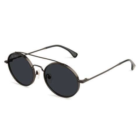 9Five St. James Bolt Gunmetal Sunglasses