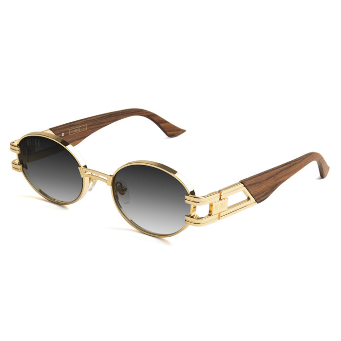 9Five St. James Wood 24K Gold Gradient Sunglasses